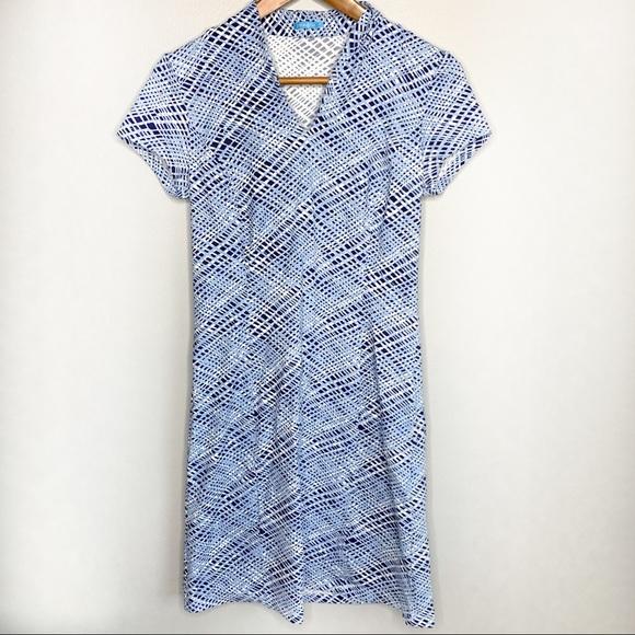 J. McLaughlin Abstract Print Dress S